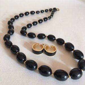 True Vintage Monet Necklace & Earring Set lot